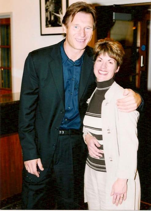 Liam Neeson and Deborah Sheppard